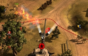 Several Flamers charging at once will usually force enemy squads to retreat
