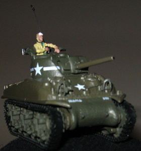 72 scale Sherman tank from Unimax\'s Forces of Valor series