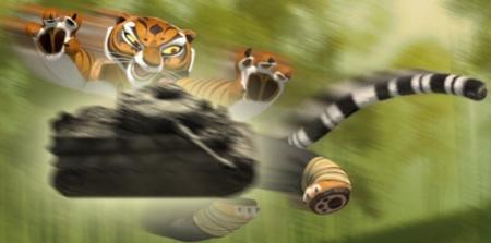 Raaaaaaaaarrr! I'd like Angelina Jolie to voice the Tiger tank commander!