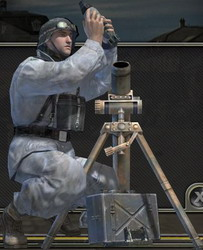Mortar, you say? Naw, this is just a telescope for really short people!