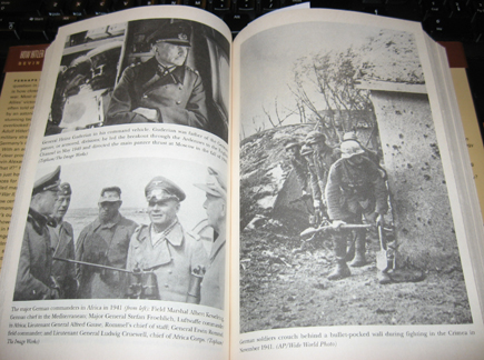 Guderian, Rommel, and shovel-carrying Krauts.