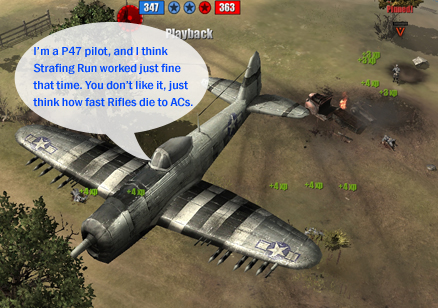 P47 pilots are rather opinionated, it seems...