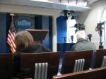 Press briefing room.