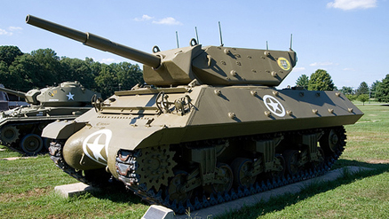 M-10 Wolverine tank destroyer.