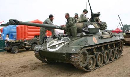 M18 Hellcat, post-war.