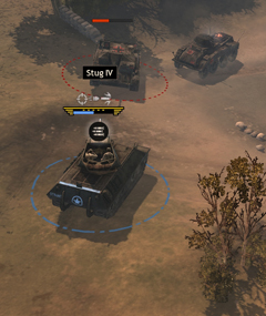 Targeting a Stug with HVAP Rounds